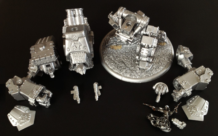 My Khador Conquest: still missing its left shoulder and main guns... - Privateer Press: This is really extremely annoying!