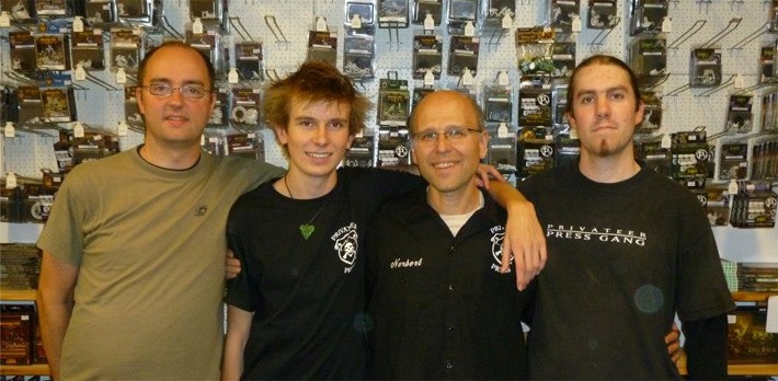 René (TO), Niek (PG), Norbert (PG/HJ), Marijn (PG) [Photo from Norbert, click to see all of them!]