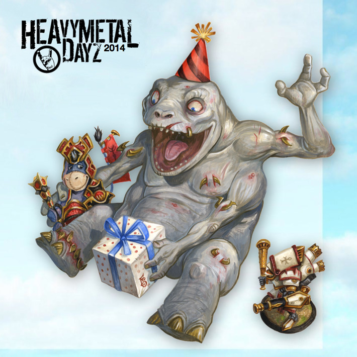 Heavy Metal Dayz 2014 (#HMD14)