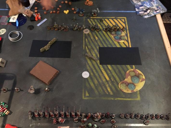 Sorscha2 vs. Bradigus' Tier: Deployment
